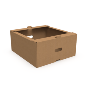 Grocery Delivery Box Open Top Kraft
